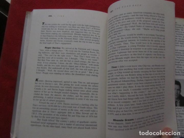 Catálogos de Música: TINA TURNER LIBRO I TINA MY LIFE STORY, TINA TURNER WITH KURT LODER CON POSTER PROMOCIONAL - Foto 13 - 244777060