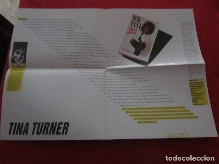 Catálogos de Música: TINA TURNER LIBRO I TINA MY LIFE STORY, TINA TURNER WITH KURT LODER CON POSTER PROMOCIONAL - Foto 17 - 244777060