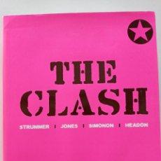 Catálogos de Música: THE CLASH - STRUMMER, JONES, SIMONON, HEADON - GLOBAL RHYTHM BARCELONA 2008 // EN ESPAÑOL PUNK UK. Lote 244933200