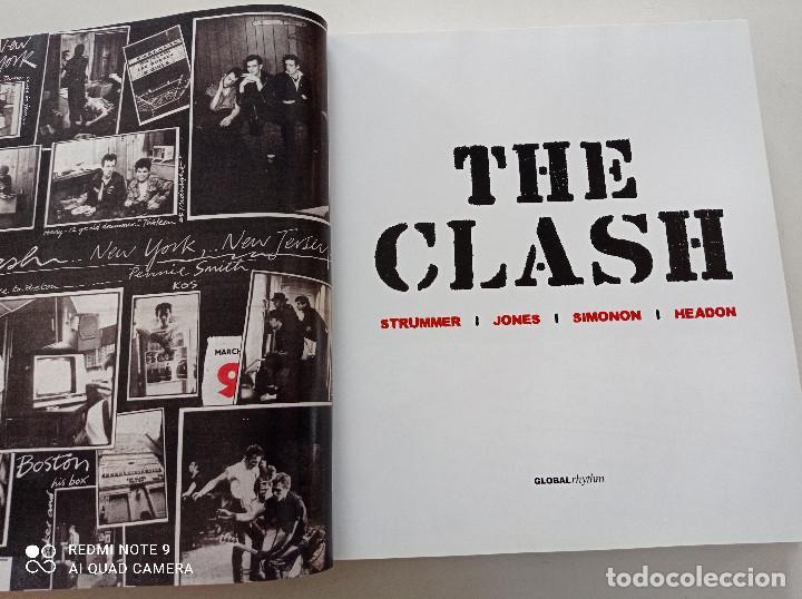 Catálogos de Música: THE CLASH - STRUMMER, JONES, SIMONON, HEADON - GLOBAL RHYTHM BARCELONA 2008 // EN ESPAÑOL PUNK UK - Foto 3 - 244933200