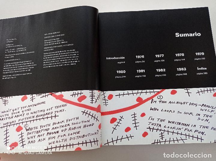 Catálogos de Música: THE CLASH - STRUMMER, JONES, SIMONON, HEADON - GLOBAL RHYTHM BARCELONA 2008 // EN ESPAÑOL PUNK UK - Foto 4 - 244933200