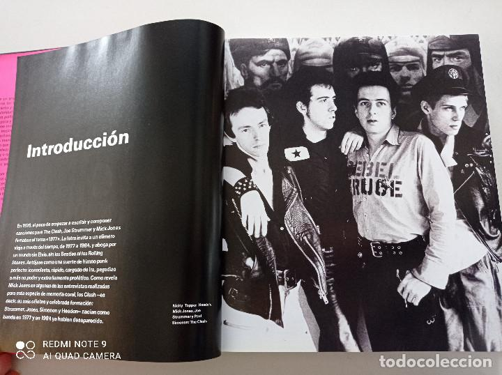 Catálogos de Música: THE CLASH - STRUMMER, JONES, SIMONON, HEADON - GLOBAL RHYTHM BARCELONA 2008 // EN ESPAÑOL PUNK UK - Foto 5 - 244933200