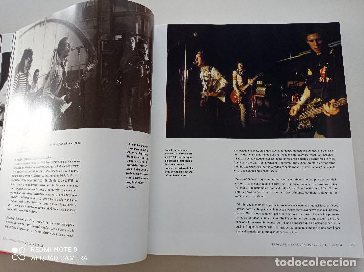 Catálogos de Música: THE CLASH - STRUMMER, JONES, SIMONON, HEADON - GLOBAL RHYTHM BARCELONA 2008 // EN ESPAÑOL PUNK UK - Foto 9 - 244933200