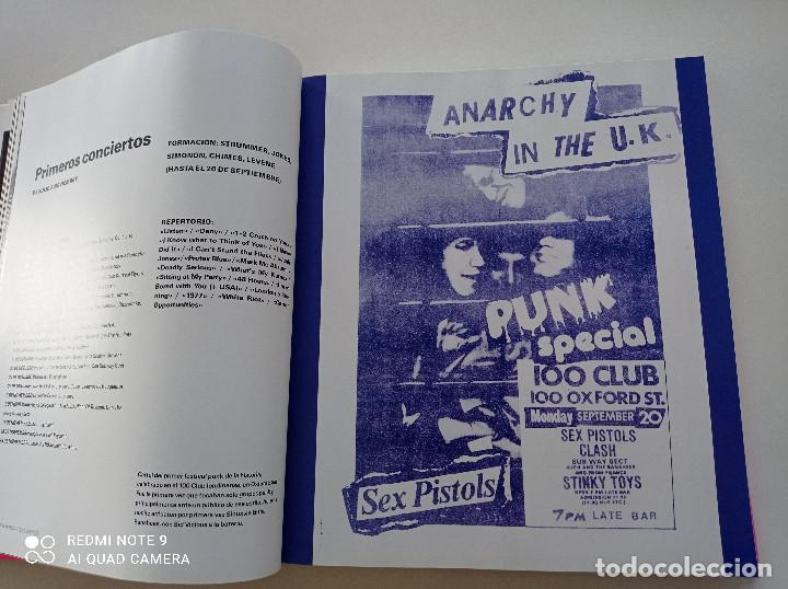 Catálogos de Música: THE CLASH - STRUMMER, JONES, SIMONON, HEADON - GLOBAL RHYTHM BARCELONA 2008 // EN ESPAÑOL PUNK UK - Foto 10 - 244933200