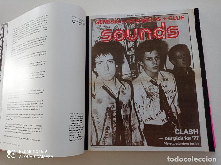 Catálogos de Música: THE CLASH - STRUMMER, JONES, SIMONON, HEADON - GLOBAL RHYTHM BARCELONA 2008 // EN ESPAÑOL PUNK UK - Foto 13 - 244933200