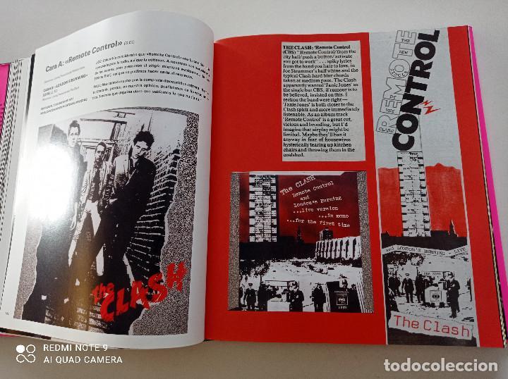 Catálogos de Música: THE CLASH - STRUMMER, JONES, SIMONON, HEADON - GLOBAL RHYTHM BARCELONA 2008 // EN ESPAÑOL PUNK UK - Foto 14 - 244933200