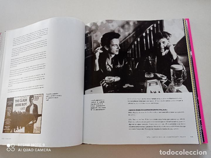 Catálogos de Música: THE CLASH - STRUMMER, JONES, SIMONON, HEADON - GLOBAL RHYTHM BARCELONA 2008 // EN ESPAÑOL PUNK UK - Foto 16 - 244933200