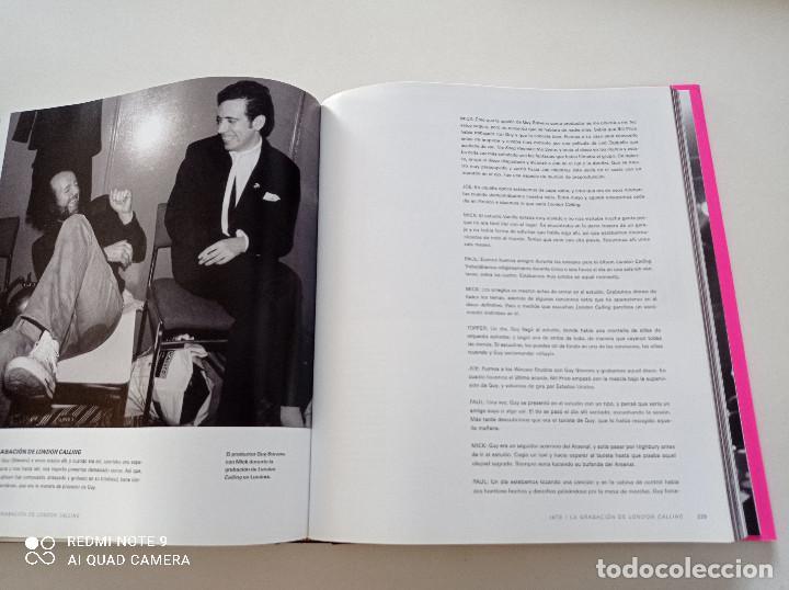Catálogos de Música: THE CLASH - STRUMMER, JONES, SIMONON, HEADON - GLOBAL RHYTHM BARCELONA 2008 // EN ESPAÑOL PUNK UK - Foto 18 - 244933200