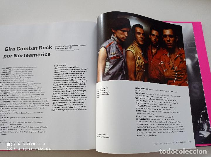 Catálogos de Música: THE CLASH - STRUMMER, JONES, SIMONON, HEADON - GLOBAL RHYTHM BARCELONA 2008 // EN ESPAÑOL PUNK UK - Foto 23 - 244933200