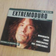 Catálogos de Música: LIBRO EXTREMODURO COLECCIÓN CD ROCK Nº12 EDITORIAL LA MÁSCARA. Lote 245138745