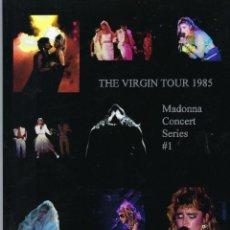 Catálogos de Música: MADONNA THE VIRGIN TOUR 1985 DELETED PHOTOBOOK FROM 2016!. Lote 245469095