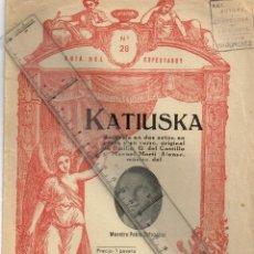 Catálogos de Música: 1940 - 50 CA. LOTE 5 LIBRETOS ZARZUELAS GUÍA DEL ESPECTADOR Nº 28,8,9,41 Y 141 ZOROZÁBAL, LUNA ETC.. Lote 245731515