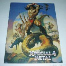 Catálogos de Música: CATALOGO BID - ESPECIAL METAL NUMERO 4 (DISCOPLAY). Lote 44821775