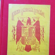 Catálogos de Música: PARTITURA MUSICAL HIMNO NACIONAL ESPAÑOL ÁGUILA DE SAN JUAN. Lote 246459880