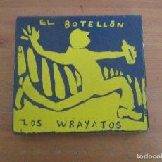 Catálogos de Música: LOS WRAYAJOS EL BOTELLÓN LIBRETO ARTESANAL CON TARJETAS Y FUNDA. Lote 248350710