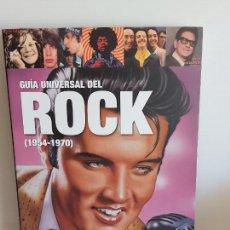 Catálogos de Música: GUÍA UNIVERSAL DEL ROCK (1954-1970) / JORDI BIANCIOTTO / ED: ROBINBOOK-2011 / NUEVO. Lote 248439170