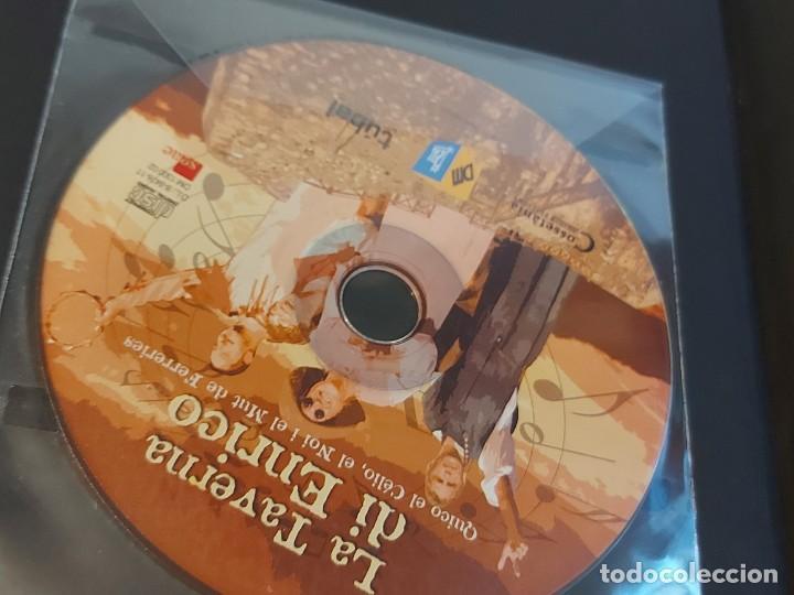 Catálogos de Música: QUICO EL CÉLIO, EL NOI I EL MUT DE FERRERIES / LA TAVERNA DI ENRICO / INCLUYE CD+ DVD / NUEVO. - Foto 2 - 248678090