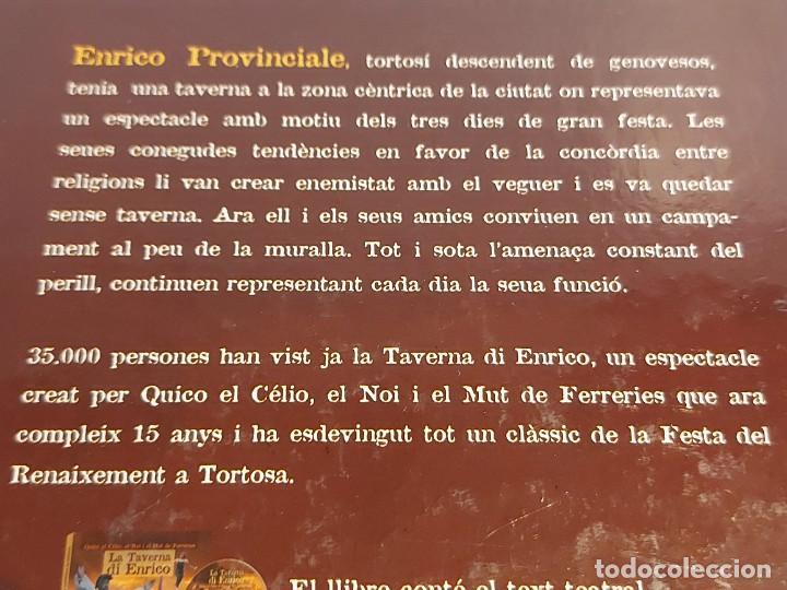 Catálogos de Música: QUICO EL CÉLIO, EL NOI I EL MUT DE FERRERIES / LA TAVERNA DI ENRICO / INCLUYE CD+ DVD / NUEVO. - Foto 5 - 248678090