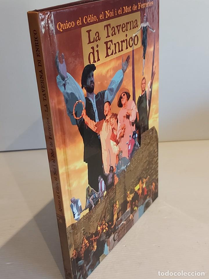 Catálogos de Música: QUICO EL CÉLIO, EL NOI I EL MUT DE FERRERIES / LA TAVERNA DI ENRICO / INCLUYE CD+ DVD / NUEVO. - Foto 6 - 248678090