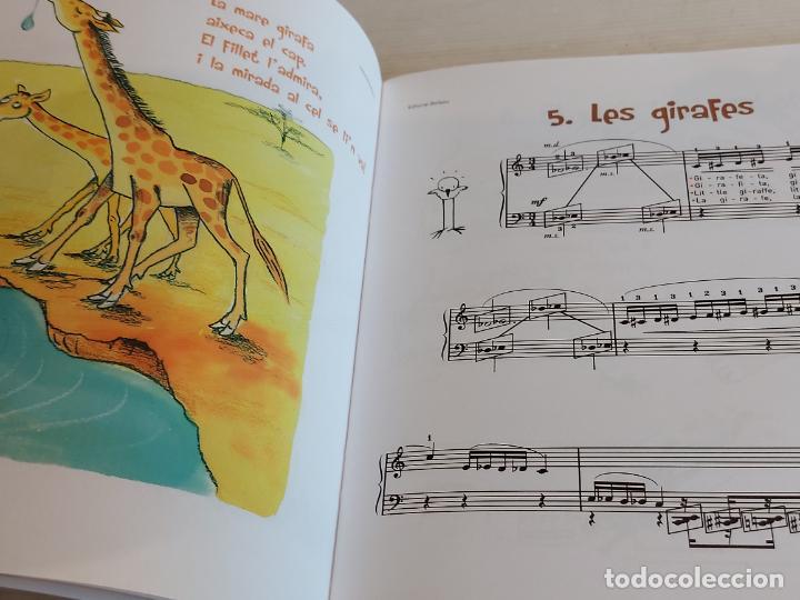 Catálogos de Música: CONTES AL PIANO / TÀNIA PARRA / CARME SOLÀ / ED: BOILEAU / CONTIENE CD / NUEVO. - Foto 3 - 249023815