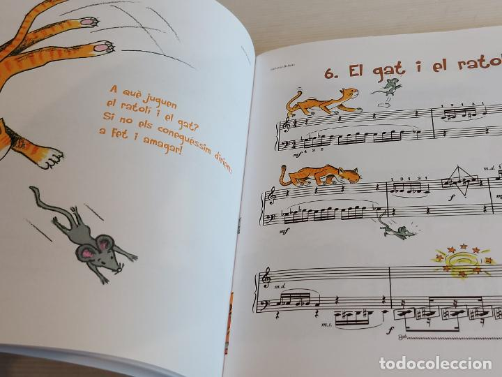 Catálogos de Música: CONTES AL PIANO / TÀNIA PARRA / CARME SOLÀ / ED: BOILEAU / CONTIENE CD / NUEVO. - Foto 4 - 249023815