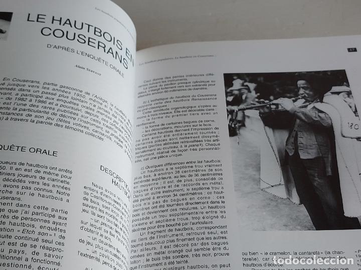 Catálogos de Música: LES HAUTBOIS POPULAIRES / ANCHES DOUBLES, ENJEUX MULTIPLES / EDITIONS MODAL-2002 / NUEVO. - Foto 3 - 249029650
