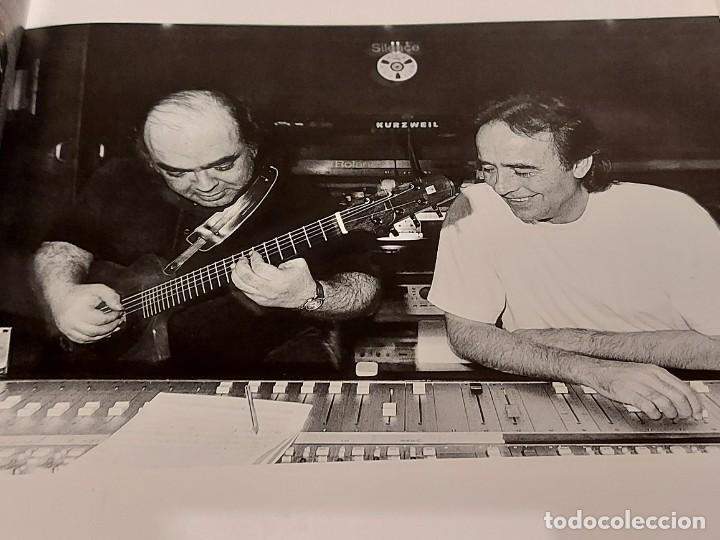 Catálogos de Música: RETRATS DE CANTANTS I MÚSICS / FOTOGRAFIES DE JUAN MIGUEL MORALES / LIBRO USADO DE OCASIÓN - Foto 2 - 250244150