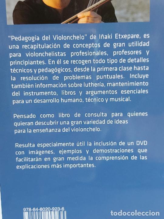 Catálogos de Música: PEDAGOGÍA DEL VIOLONCHELO / IÑAKI ETXEPARE / ED: BOILEAU-2011 / INCLUYE DVD / LIBRO NUEVO. - Foto 5 - 250324825