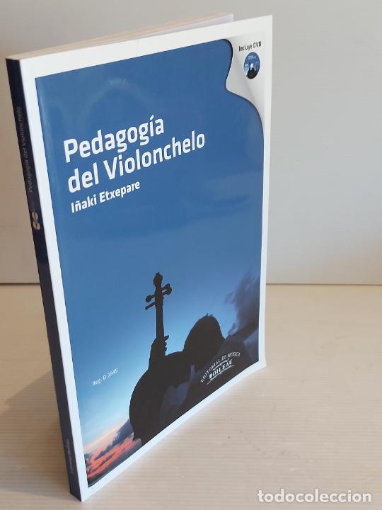 Catálogos de Música: PEDAGOGÍA DEL VIOLONCHELO / IÑAKI ETXEPARE / ED: BOILEAU-2011 / INCLUYE DVD / LIBRO NUEVO. - Foto 6 - 250324825