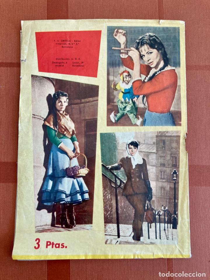 Catálogos de Música: La Violetera, Sara Montiel - Cancionero Color Nº 10 - 2ª Edición, 1958 - Foto 2 - 251138100