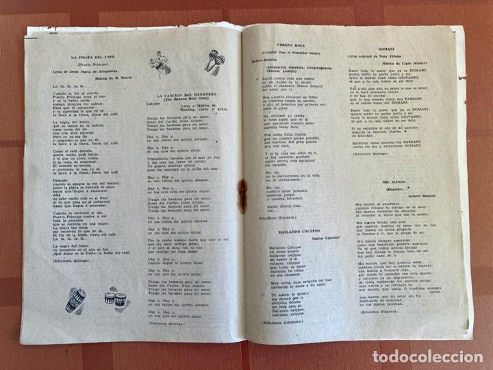 Catálogos de Música: La Violetera, Sara Montiel - Cancionero Color Nº 10 - 2ª Edición, 1958 - Foto 4 - 251138100
