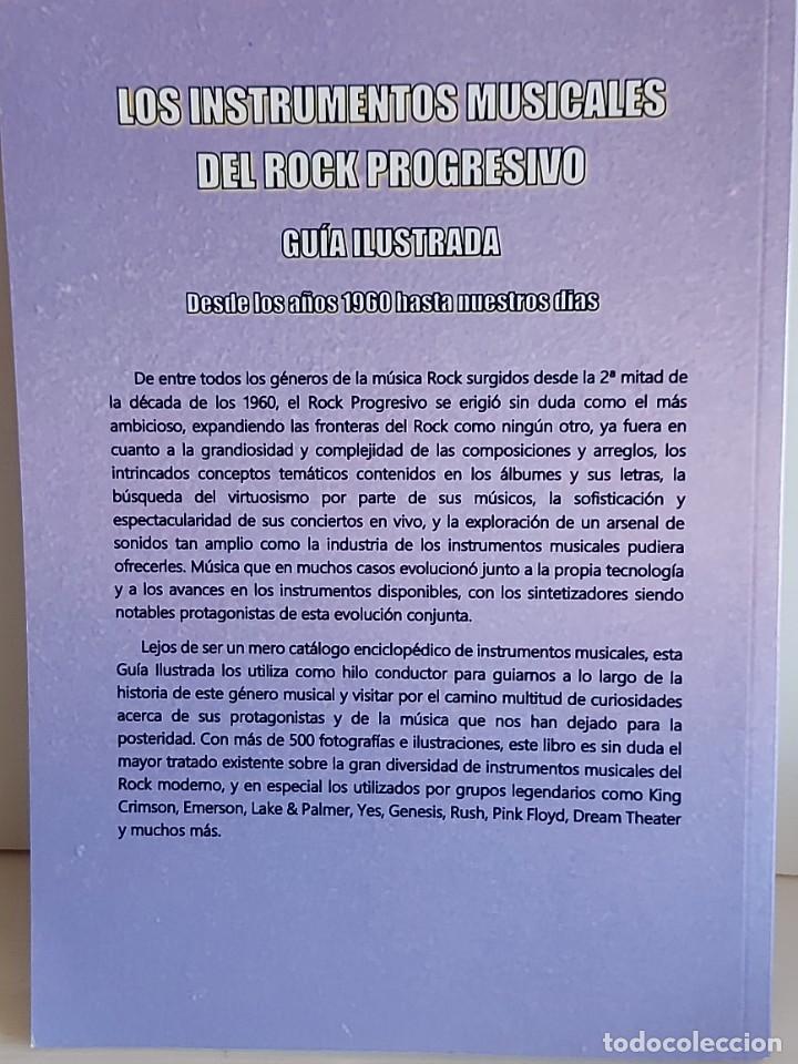 Catálogos de Música: LOS INSTRUMENTOS MUSICALES DEL ROCK PROGRESIVO / GERARD BASSOLS TEIXIDÓ-2018 / NUEVO - Foto 6 - 251218190