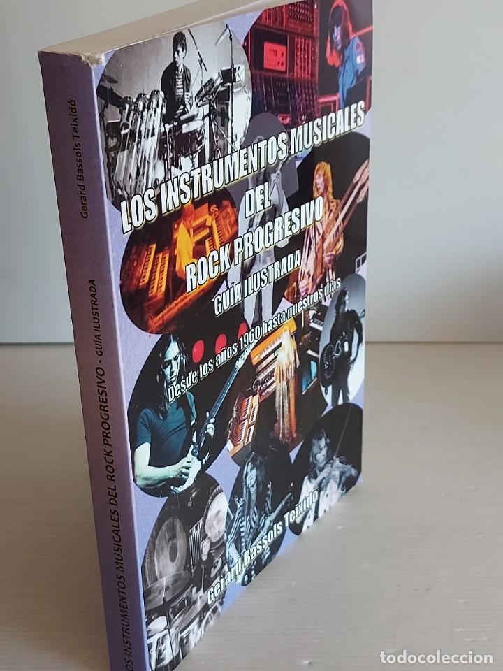 Catálogos de Música: LOS INSTRUMENTOS MUSICALES DEL ROCK PROGRESIVO / GERARD BASSOLS TEIXIDÓ-2018 / NUEVO - Foto 8 - 251218190