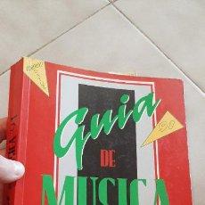 Catálogos de Música: LIBRO GUIA DE MUSICA CATALOGO 1991 91 ARTISTAS CONTACTO DISCOGRAFICAS GRUPOS POP ROCK LOCALES. Lote 251492995