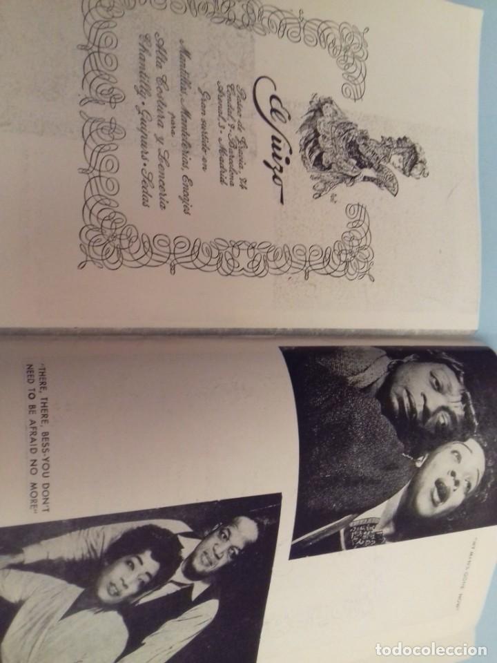 Catálogos de Música: Programa musical Opera PORGY and BESS de George Gershwin, Teatro del Liceo Barcelona, Febrero 1955 - Foto 12 - 252377710