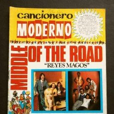 Catalogues de Musique: MIDDLE OF THE ROAD - POP TOPS (1973) CANCIONERO MODERNO - ED. ESTE - REYES MAGOS, MAMMY BLUE .... Lote 252665020