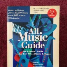 Catalogues de Musique: ALL MUSIC GUIDE ROCK POP SOUL JAZZ BLUES ... 1500 PAGINAS 20.000 ALBUMS 4.000 ARTISTAS 20 CATEGORIAS. Lote 253688115
