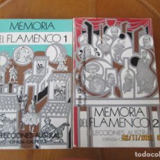 Catálogos de Música: MEMORIA DEL FLAMENCO 1 Y 2-FELIX GRANDE-SELECCIONES AUSTRAL-ESPASA CALPE 1979-DEDICADO POR EL AUTOR.. Lote 253707505