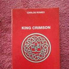 Catálogos de Música: KING CRIMSON - CARLOS ROMEO - CATEDRA ROCK POP 53. Lote 253971420
