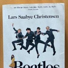 Catálogos de Música: BEATLES - LARS SAABYE CHRISTENSEN - EDITADO EN NORUEGA. Lote 254086510