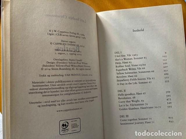Catálogos de Música: BEATLES - Lars Saabye Christensen - Editado en Noruega - Foto 4 - 254086510
