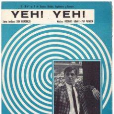 Catalogues de Musique: CANCIONERO YEH! YEH! DE GEORGIE FAME. Lote 254182260