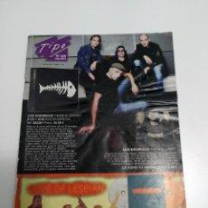 Catálogos de Música: CATALOGO TIPO - Nº 246 - JULIO 2012 - LOS ENEMIGOS. Lote 44818602