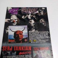 Catálogos de Música: CATALOGO TIPO - Nº 247 - AGOSTO 2012 SLIPKNOT. Lote 44818611
