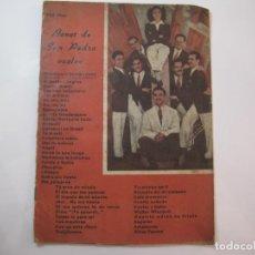 Catálogos de Música: BONET DE SAN PEDRO-CANCIONERO-VER FOTOS-(K-2294). Lote 254804585