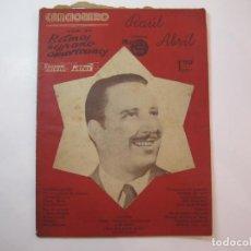 Catálogos de Música: RAUL ABRIL-EDITORIAL ALAS-CANCIONERO-VER FOTOS-(K-2297). Lote 254805320