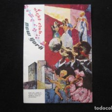 Catálogos de Música: BARCELONA-NIGHT CLUB NEW YORK-CATALOGO PUBLICIDAD-VER FOTOS-(K-2299). Lote 254806200