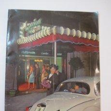 Catálogos de Música: BARCELONA-EMPORIUM NIGHT CLUB-CATALOGO PUBLICIDAD-VER FOTOS-(K-2301). Lote 254807130