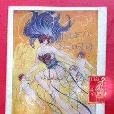 Catálogos de Música: FOLIES-BERGÈRE - 1923 - PROGRAMA. Lote 254819880