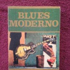 Catálogos de Música: BLUES MODERNO - PHILIPPE BAS-RABERIN - LOS JUGLARES - EDICIONES JUCAR. Lote 255373380